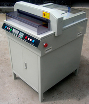 Electric automatic 17'7 paper cutter